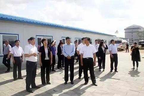 吉林省药监局局长刘宝芳莅临世爵平台药业考察调研
